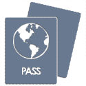 Icon depicting Golden Visa passports for lawyer service